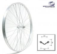 Ruota Bici Bacchetta o Erre 28x5/8x3/8 in Acciaio Cromato Anteriore o Posteriore