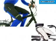 Telo Coprigambe Ciclista da Bici Impermeabile Antivento Rifrangente RAINLEGS