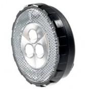 Fanale Bici Anteriore Tondo 3 LED a Batteria
