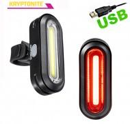 Fanale Bici Anteriore o Posteriore Super LED Ricaricabile USB