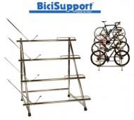 Espositore Bici Multiplo 4 Posti da Negozio BiciSupport