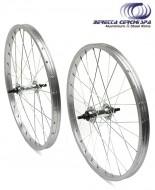 Ruota Bici 20x1.50/1.75 per Graziella, Pieghevole, MTB Anteriore o Posteriore 1 o 6/7 Velocità