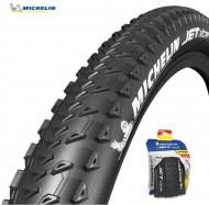 Copertone Gomma Bici 27 Pollici Misura 27.5x2.25 Michelin JET XCR Pieghevole