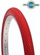 Copertone Gomma Bici 20 Pollici Misura 20x1.75 o 47-406 Colore Rosso