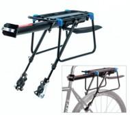 Portapacco Posteriore Bici Attacco Rapido al Reggisella e Telaio
