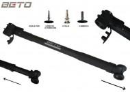 Pompa Bici Portatile Beto Easy Telescopica Lunghezza Regolabile da 46 a 58 cm