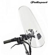 Parabrezza Schermo Trasperente Protezione Bimbo in Bici sul Seggiolino Wind Screen Polisport