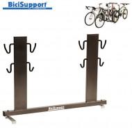 Espositore Bici al Carro Posteriore 4 Posti da Negozio BiciSupport