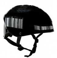 Casco Bici BMX Bimbo Ragazzo da 10 a 15 Anni Taglia 50-56 cm Colore Nero