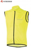Gilet Antivento Bici KROSS BROLLY VEST Giallo