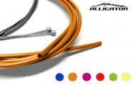 Filo Cambio Marce Bici Completo di Guaina 4 mm Anteriore e Posteriore Colore Verde Blu Rosso Giallo Arancione