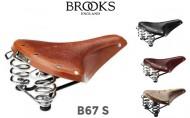 Sella Bici Brooks in Cuoio Modello B67 S