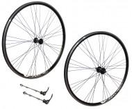 Ruote Bici Mountain Bike 26x1.50 / 2.00 Cerchio Profilo Alto 25 mm Colore Nero per Cambio 6/7 Velocità