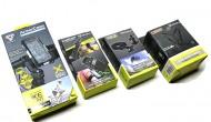 Cover iPhone 4 5 con Attacco Manubrio Bici + Attacchi al Braccio - Casco -  Bretella Torace
