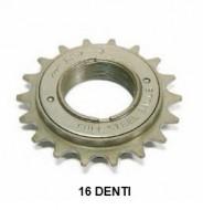 Ruota Libera o Rocchetto Bici a Filetto 1 Velocità 16 Denti