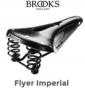 Sella Bici Brooks in Cuoio Modello FLYER IMPERIAL con Foro Centrale