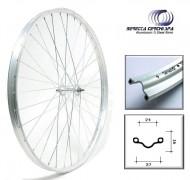 Ruota Bici Bacchetta o Erre 28x5/8x3/8 o 37-622 in Alluminio Anteriore o Posteriore