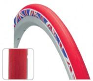 Copertone Gomma Bici 28 Pollici Misura 700x25 o 25-622 Bici Corsa Fixed Colore Bandiera Inglese BRITISH UK