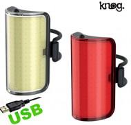 Fanale Bici Anteriore o Posteriore Batteria Ricaricabile USB Mid Cobber