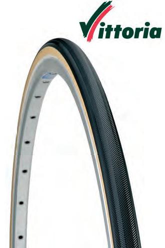 """Tubolare Palmer Vittoria RALLY 28/""""-23 nero//para corsa race bici bike bicicletta"""