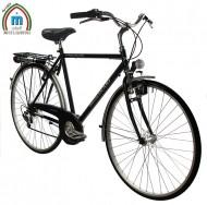 Bici 28 Pollici Telaio Uomo Sportiva con Cambio Shimano 6 Velocità Modello CONDORINO