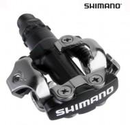 Pedali Bici MTB SHIMANO EPDM520L Perno su Cuscinetto