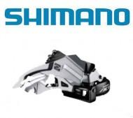 Deragliatore Cambio Marce Anteriore Bici SHIMANO ACERA per Tripla Corona 9 Velocità