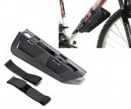 Parafango Bici MTB Anteriore Paraspruzzi Carbon al Telaio