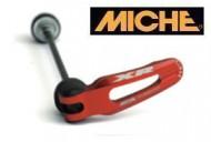 Bloccaggi Rapidi Mozzi Ruota Bici Miche MTB XR Colore Rosso