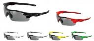 Occhiali Ciclista da Bici con Lenti Intercambiabili Nere e Trasparenti BRN ARROW