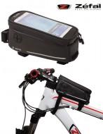 Bustino Portaoggetti + Portacellulare Canna Centrale Bici ZEFAL Console Pack
