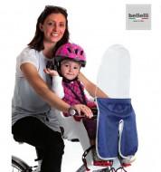 Parabrezza o Paravento Schermo con Tela Protezione Bimbo in Bici BELLELLI