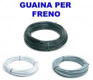 Guaina Freno 5 mm Colore Nero - Bianco - Grigio