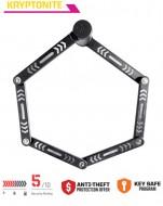 Lucchetto Antifurto Bici in Acciaio Snodabile Spessore 5 mm